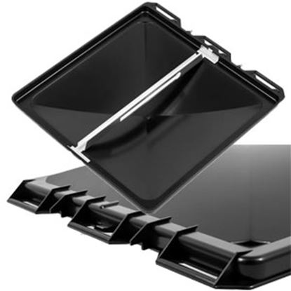 """Picture of Camco  Black Polypropylene 14"""" x 14"""" Jenson Style Roof Vent Lid 40173 22-0420"""