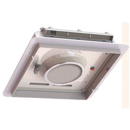 "Picture of Fan-Tastic Vent  White 14""x14"" Roof Vent w/Fan 800500 22-0658"