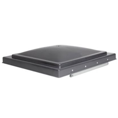 """Picture of Camco  Smoke Polypropylene 14"""" x 14"""" Ventline Style Roof Vent Lid 40146 22-0672"""