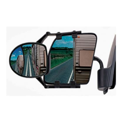 Picture of CIPA  Clip-On Dual-View Towing Mirror 11953 23-0325