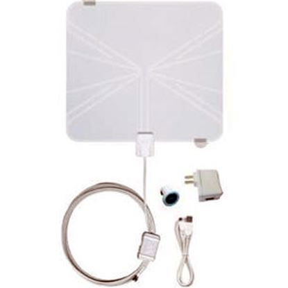 Picture of Winegard Rayzar (R) White Multi-Directional Amplified Broadcast TV Antenna RV-RZ85 24-0173