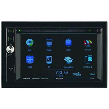 Picture of Jensen  AM/FM/DVD/CD/MP3/WMA Touchscreen Radio w/Bluetooth, USB, GPS JRV9000R 24-0400