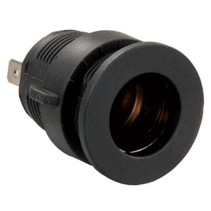 Picture of JR Products  Black 12V Power Port Socket 15105 24-0433