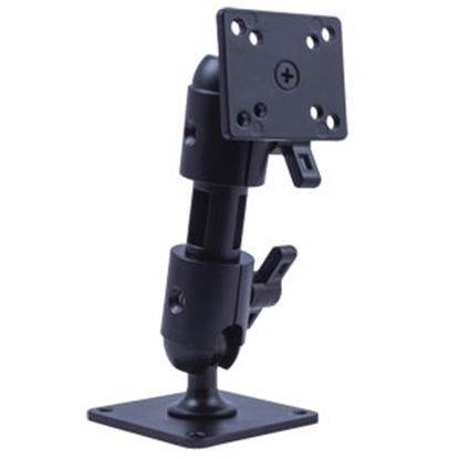 "Picture of Voyager  Matte Black Aluminum 6"" Video Monitor Mount For VOYAGER VOSHD6MNT 24-3876"