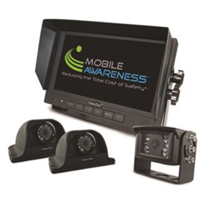 """Picture of Mobile Awareness VisionStat (R) Triple Camera 7"""" VisionStat Backup Camera System MA1102 24-5093"""