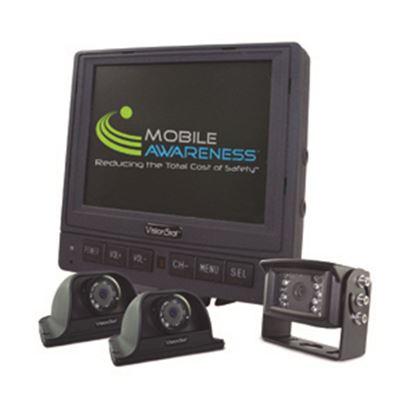 """Picture of Mobile Awareness VisionStat (R) Triple Camera 5.6"""" VisionStat Backup Camera System MA1125 24-5094"""