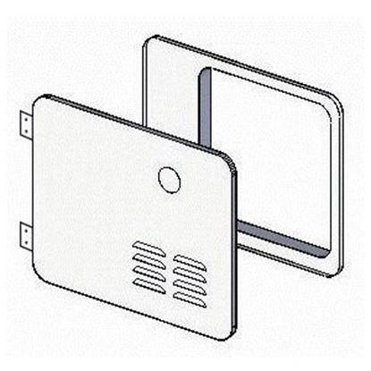 Picture of Girard GSWH-2 Polar White Access Door For Atwood 6 Gal Water Heater 2GWHDA6 42-3252