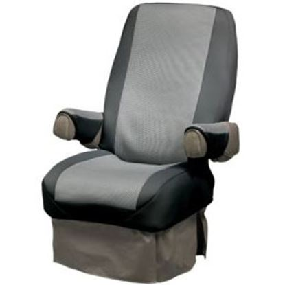 Picture of CoverCraft SeatGloves (TM) Black Universal RV Captain's Chair Seat Cover SVR1001BK 46-0038