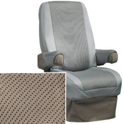 Picture of CoverCraft SeatGloves (TM) Tan Universal RV Captain's Chair Seat Cover SVR1001TN 46-0041