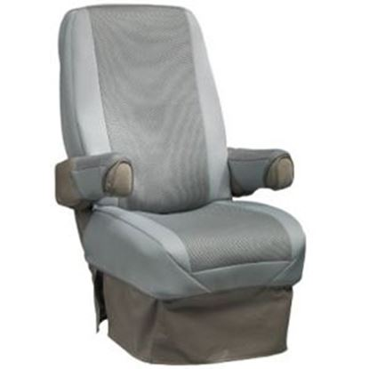 Picture of CoverCraft SeatGloves (TM) Gray Universal RV Captain's Chair Seat Cover SVR1001GY 46-0045