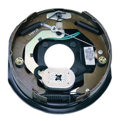 "Picture of Correct Track  10"" Left Hand Self-Adjusting Electric Brake Assemb 296649 46-7050"