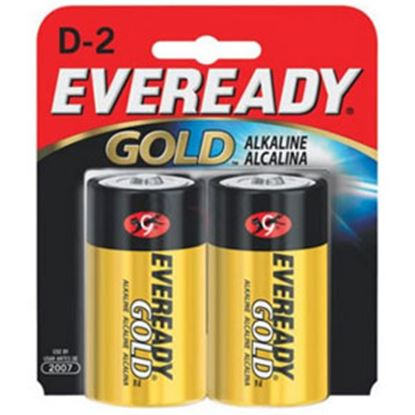 Picture of Eveready Gold (TM) 1.5V Zn-MnO2 D-Type Alkaline Battery A95BP-2 69-5096