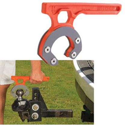 """Picture of HitchGrip HitchGrip Orange Nylon Ball Mount Carrying Handle for 2-5/16"""" Ball HG-712 69-5291"""
