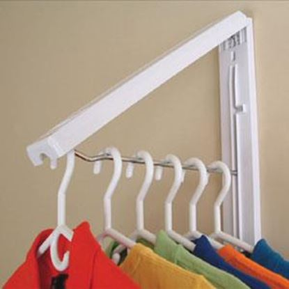 Picture of Instahanger  Quikcloset Wall Mounted Clothes Storage System AH3X12/M 69-5333