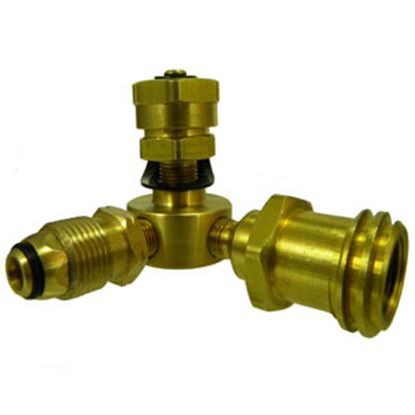 Picture of MB Sturgis  Type 1 x #600 LP Adapter x FPOL/MACME Brass LP Adapter Fitting 103603PKG 69-6645