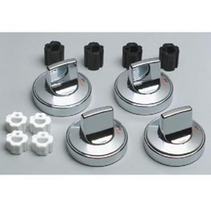 Picture of Range Kleen  Chrome Oven/Stove Control Knob for Range Kleen 8224 69-7050