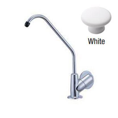 Picture of Relaqua  White w/Single Knob Kitchen Faucet w/Swivel Spout ALK-9001W 69-7084