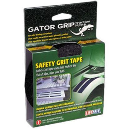 "Picture of Top Tape Gator Grip (R) Black 1""x15' Anti-Slip Grit Tape RE3950 69-7687"