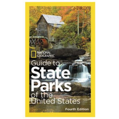 "Picture of National Geographic  384-Pages 8-1/2""H x 5-1/4""W U.S State Park Atlas By National Geographic BK26208898 69-9363"