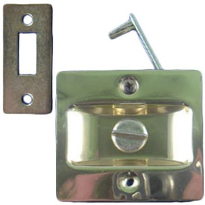 Picture of Strybuc  Brass Plated Entry Door Latch 90014604C 69-9828
