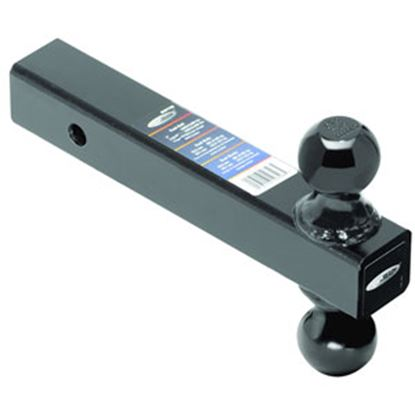 """Picture of Tow-Ready  Class III/IV 2"""" 10K/16K 8""""L Steel Double Ball Mount 80796 69-9909"""