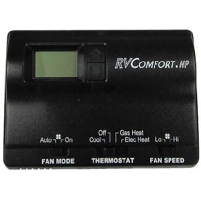 Picture of Coleman-Mach  Black Single Stage Heat Digital Wall Thermostat 8530-3381 70-8892