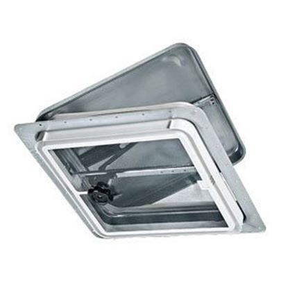 """Picture of Ventline  14.25""""x14.25"""" Polypropylene Frame Roof Vent V2110-501-00 71-0005"""