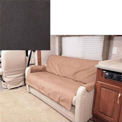 """Picture of CoverCraft Canine Covers (R) SofaSaver Gray 60""""x18"""" RV Sofa Cover SRS001GY 71-2658"""