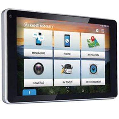 "Picture of Rand McNally  7"" LCD Display Bluetooth GPS Navigation System 0528018477 71-6336"