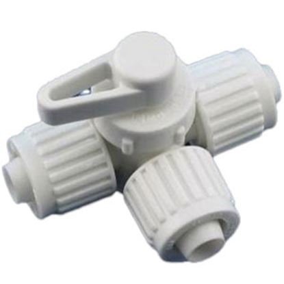 """Picture of Flair-It  1/2"""" PEX Plastic Fresh Water By-Pass Valve 16914 72-0816"""