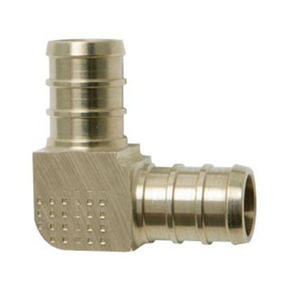 """Picture of BestPEX  3/8"""" PEX Brass Fresh Water 90 Deg Elbow 51138 72-0827"""
