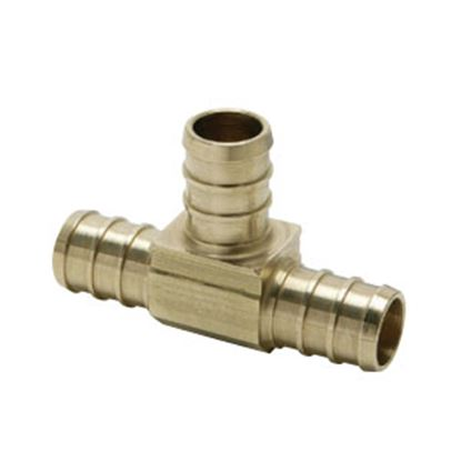"""Picture of BestPEX  3/8"""" PEX Brass Tee Fresh Water Coupler Fitting 51150 72-0830"""