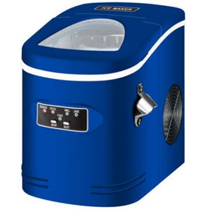 Picture of Contoure  Blue Portable 120V/15A 2lb Capacity Compact Ice Machine RV-145BL 72-5393