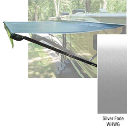 Picture of Lippert Solera 10' w/ 8' Ext Silver Fade W WG Vinyl Patio Awning V000307065 90-2016