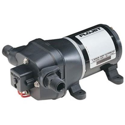 Picture of Flojet Quad II 115V 3.3 GPM 35 PSI Fresh Water Pump 04406043A 93-3107