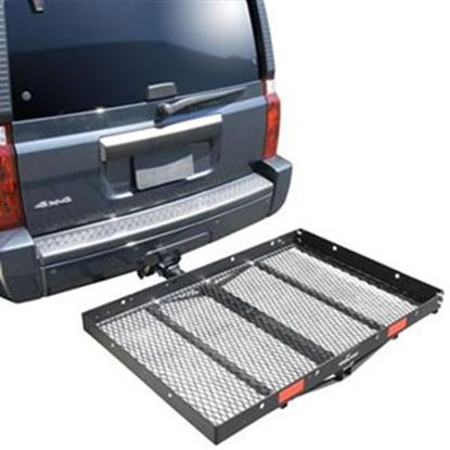 "Picture of Pro Series Hitches Solo (TM) 48x32"" 400 Lb Cargo Carrier for 2"" Hitch 1040100 95-8554"
