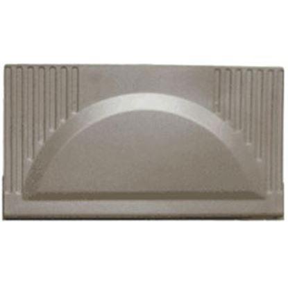 Picture of WFCO  Black Plastic Rectangular Flip Down Power Converter Door WF-8700-PDOB 96-1582